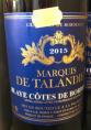 Marquis de Talandier - Blaye Côtes de Bordeaux