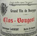 Clos-Vougeot - Grand vin de bourgogne