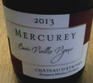 Mercurey Cuvée Vieilles Vignes