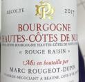 Bourgogne Hautes Côtes de Nuits Rouge Raisin