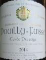 Pouilly-Fuissé Cuvée Prestige