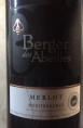 Berger des Abeilles Merlot