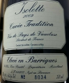 Isolette Cuvée Tradition