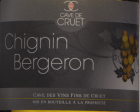 Chignin Bergeron