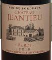 Château Jeantieu Cuvée Burdi