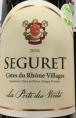 Seguret Côtes du Rhône Villages