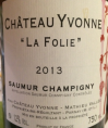 La Folie Saumur-Champigny