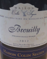 Brouilly Tradition
