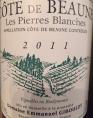 Côte de Beaune Les Pierres Blanches