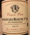 Virginie Pillet - Les Vergelesse - Savigny-les-Beaune 1er Cru