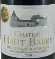 Château Haut Barry
