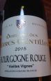 Bourgogne Rouge Vieilles Vignes