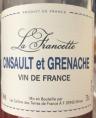 La Francette - Cinsault et Grenache