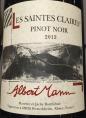 Pinot Noir Les Saintes Claires