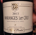 Maranges 1er Cru 2013