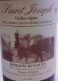 Saint Joseph - Vieilles Vignes