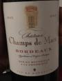Château Champs de Mars