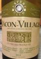 Mâcon-Village Cuvée des Fresques