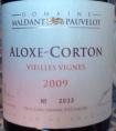 Aloxe Corton - Vieilles Vignes