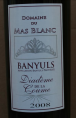 Banyuls Diadème de la Coume