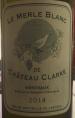 Château de Clarke Le Merle Blanc