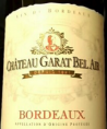 Château Garat Bel Air