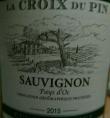 La Croix du Pin Sauvignon