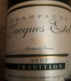 Champagne Brut Jacques Estel