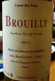 Brouilly Cuvée des Fous