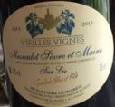 Muscadet Sèvre et Maine sur lie - Vieilles Vignes