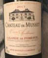 Château de Musset - Cuvée Apollinaire
