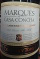 Marques De Casa Concha Cabernet Sauvignon