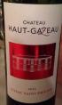Château Haut-Gazeau