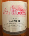 Saumur Rosé Villa Lorane