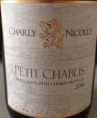 Charly Nicolle Petit Chablis