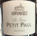 Petit Paul Réserve
