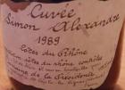Cuvée Simon Alexandre