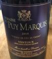 Puy Marquis Vieilli en fût de Chêne