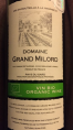 Domaine Grand Milord