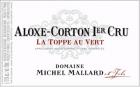 Aloxe-Corton 1er Cru La Toppe au Vert