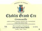 Chablis Grand Cru