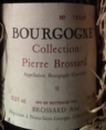 Bourgogne Collection Pierre Brossard
