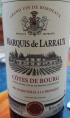 Marquis de Larraux Côtes de Bourg