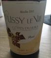 Ussy le Vif -  Cotes du jura