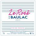 Le Rosé de Baulac