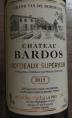 château Bardos Bordeaux Supérieur