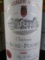 Saint Emilion Chateau la Rose Pourret