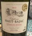 Château Haut-Bajac