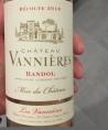 Château Vannières Bandol Rosé