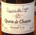 QUARTS DE CHAUMES Grand cru